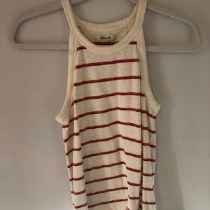 Madewell high neck tank top